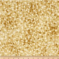 Kaufman Winter's Grandeur 4 Metallics Muted Dots Natural