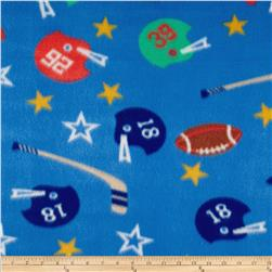 Printed Fleece Hockey Football