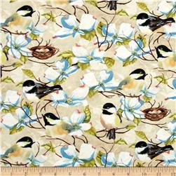 Feather Your Nest Birds & Flowers Cream