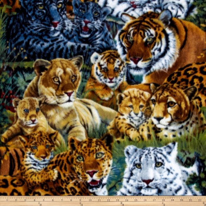 Jaguar Family Fleece Multi