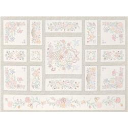 Robert Kaufman Pretty Posies 36 In. Panel Vintage