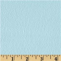 Fluffy Flannel Solids Aqua