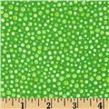 Flannel Spots Green