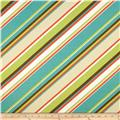 Richloom Solar Outdoor Browning Stripe Opal