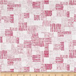 En Vogue Textured Patch White/Pink