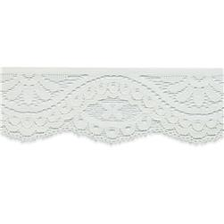 1 3/4'' Alexa Stretch Lace Trim Ivory