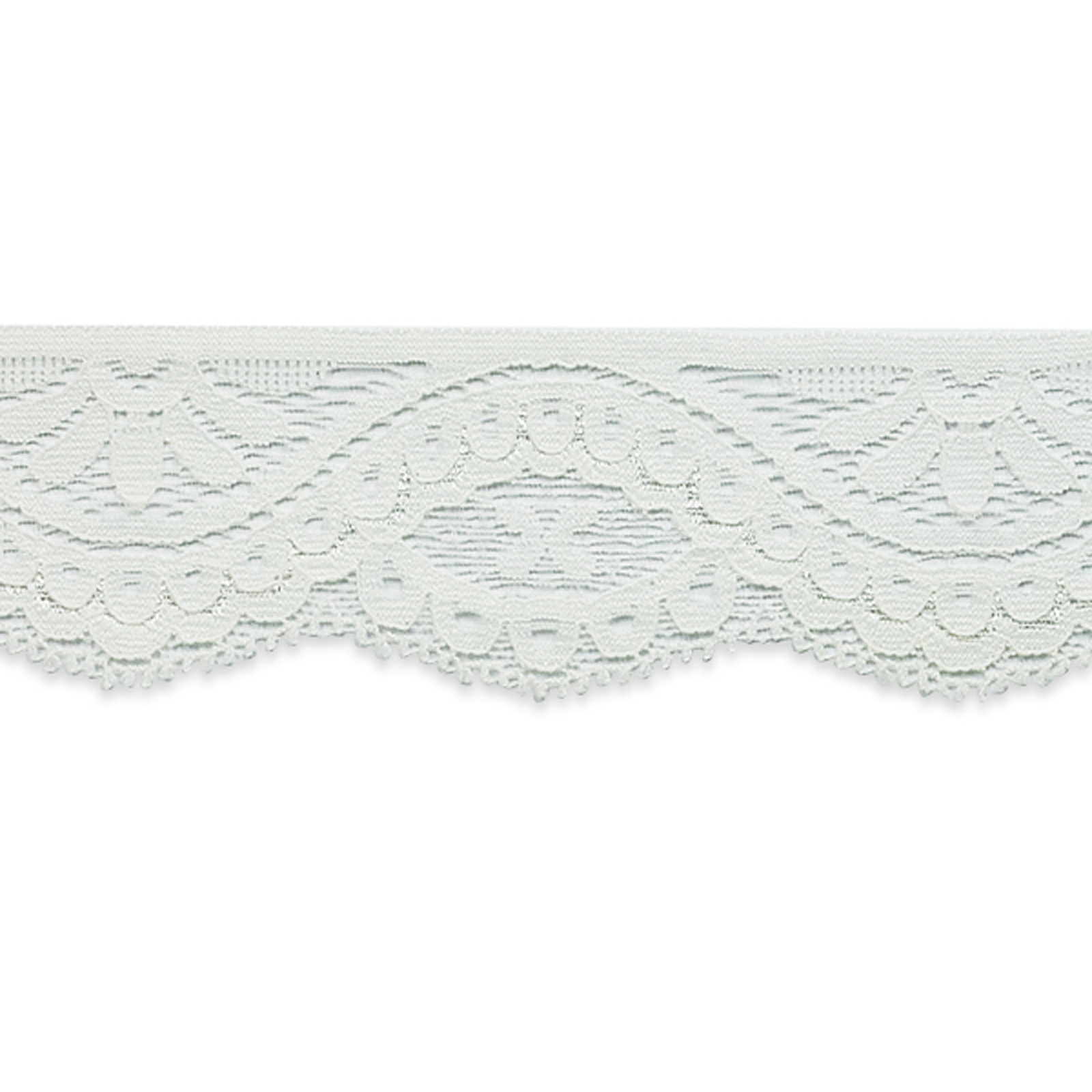 1 3/4'' Alexa Stretch Lace Trim Ivory by Expo in USA