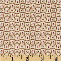 Cozies Flannel Harvest Check tan