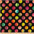 Kanvas Patio Prints Dot Black