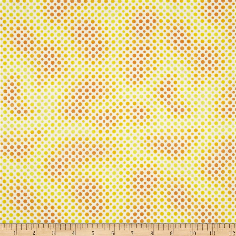 Ombre Dot Yellow