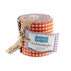 Riley Blake Basics Small Gingham 2 1/2'' Rolie Polie