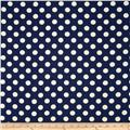 Riley Blake Home Décor Dots Navy