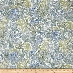 Richloom Indoor/Outdoor Woven Jacquard Bocachia Atlantic