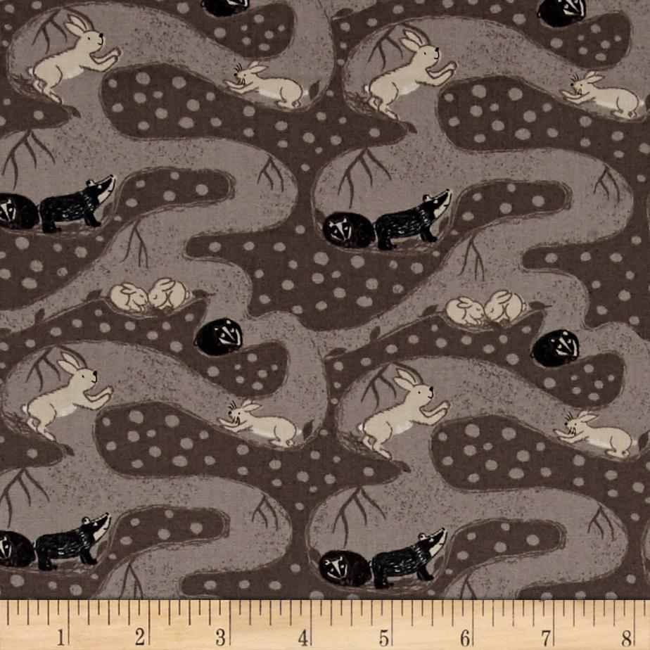 Enchanted Forest Critters Grey