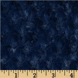 Shannon Minky Soft Tile Cuddle Navy