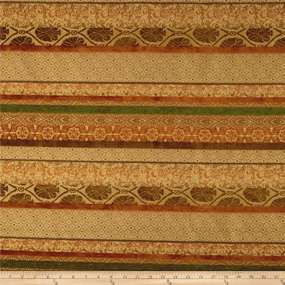Robert Allen Promo Hinkly Chenille Jacquard Paprika