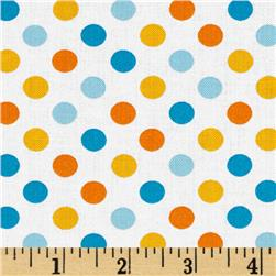 Kaufman Spot On Medium Dot Sunshine