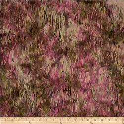 Bali Batiks Handpaints Grass Texture Carnation