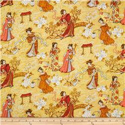 Imperial Dynasty Geisha Girls Tan