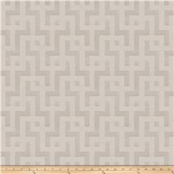 Fabricut Clarity Interlock Jacquard Sterling