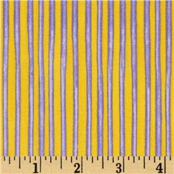 Carousel Circus Stripe Purple/Yellow