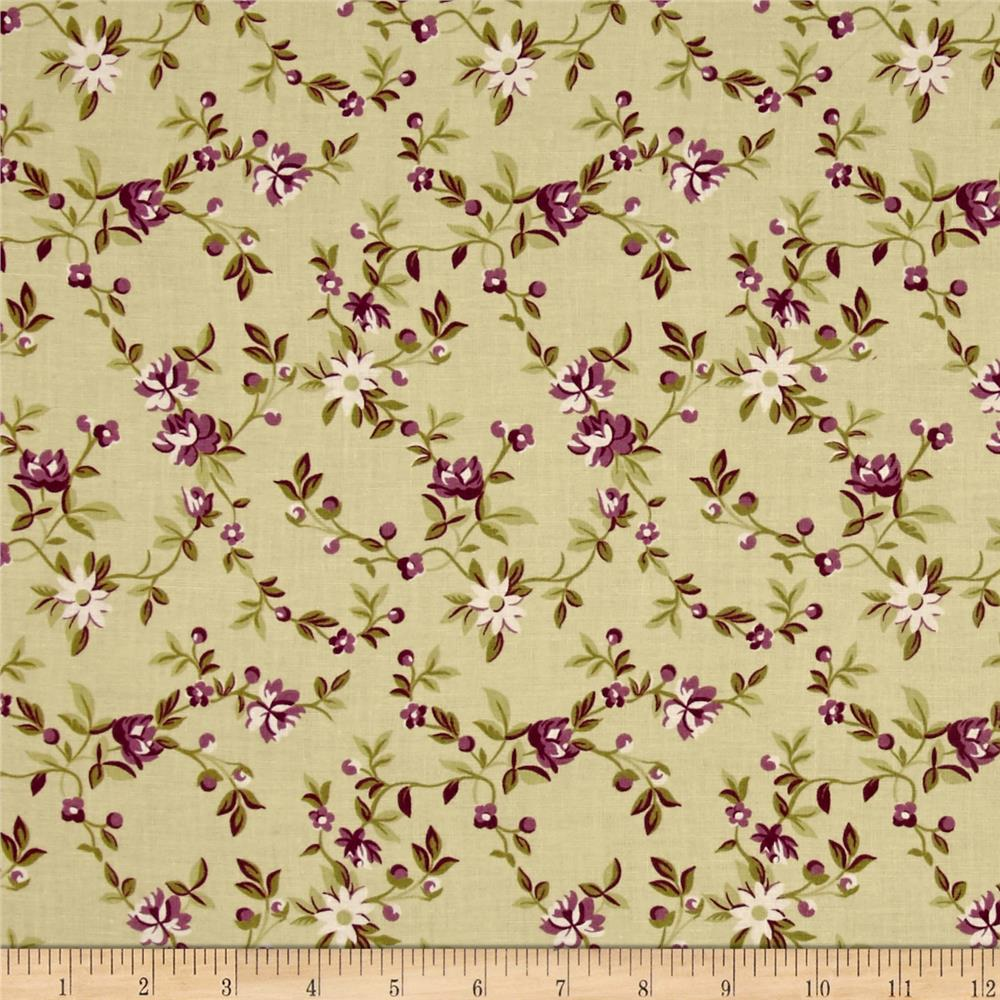 Windham Peyton Small Floral Green