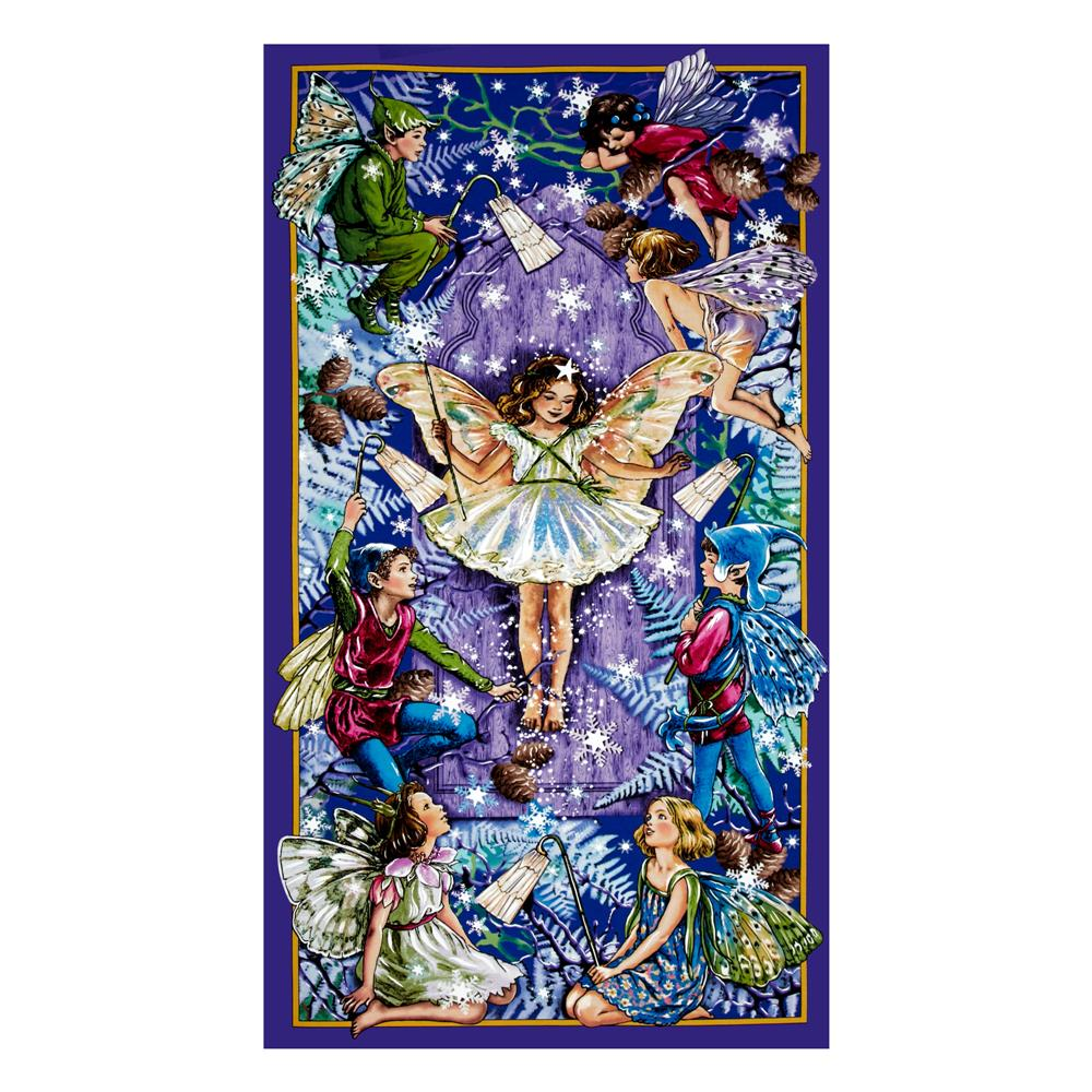 Michael Miller Flower Fairies Enchanted Fairies 24 In.