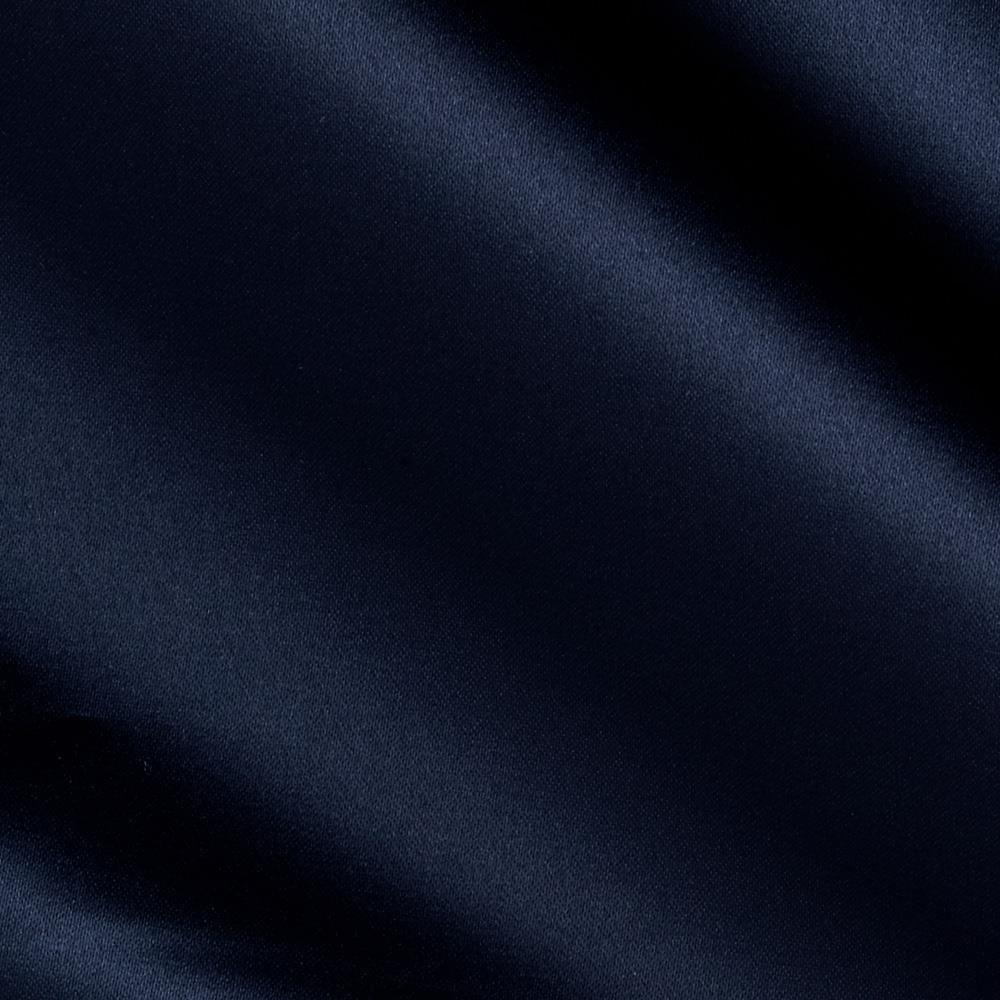 Poly Sateen Navy