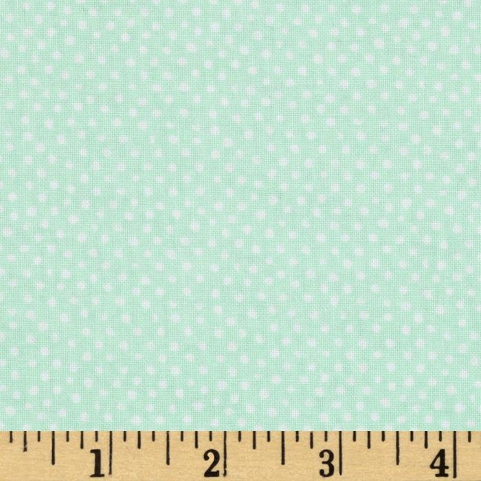 Mini Confetti Dot Mint