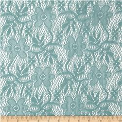 Doily Lace Sage Fabric