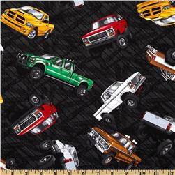 Extreme Sports Trucks Black Fabric