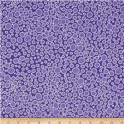 Packed Dots Metallic Purple