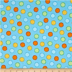 ABC-123 Dots Blue