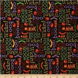 Hocus Pocus Halloween Words Multi