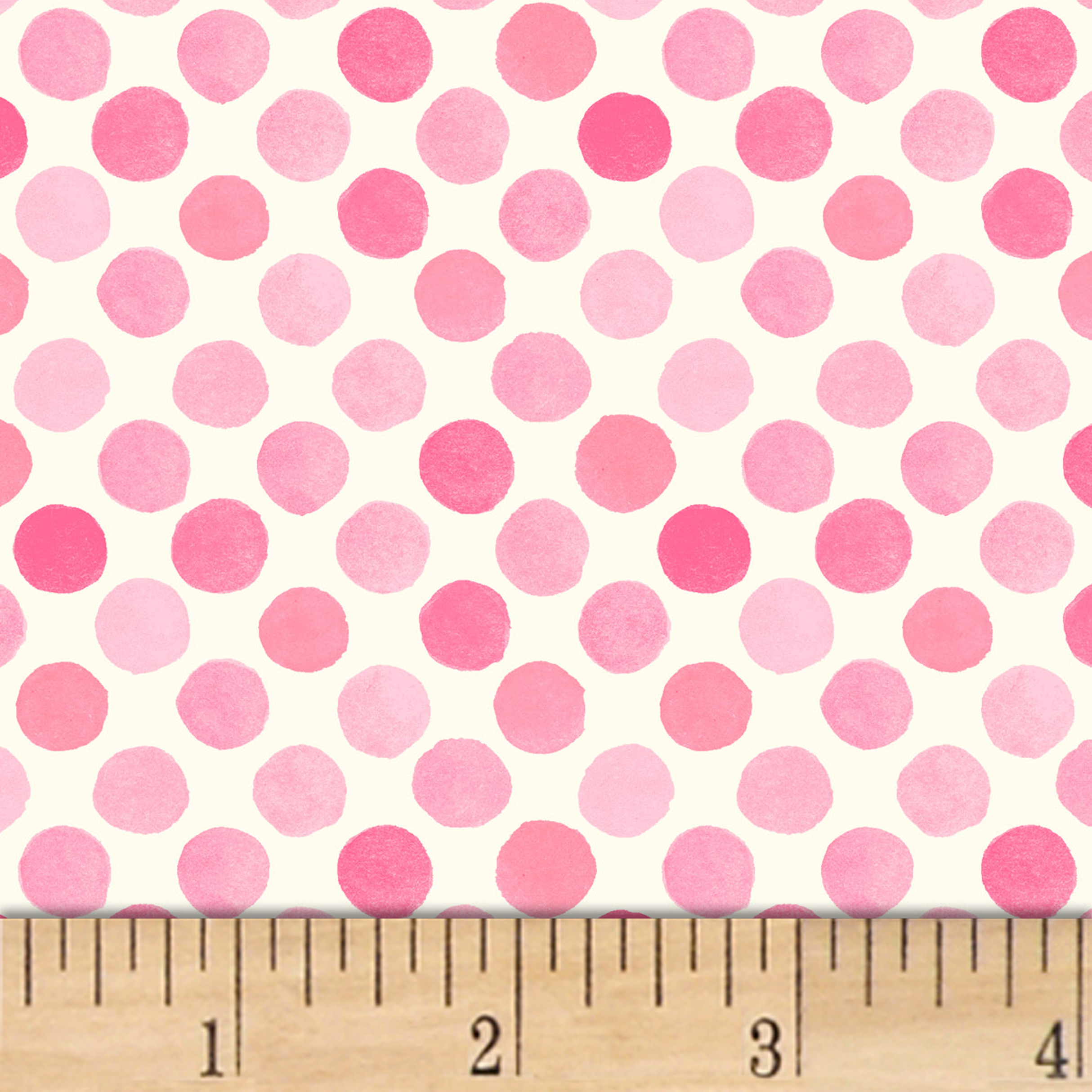 INOpets.com Anything for Pets Parents & Their Pets Lori's Art Garden Garden Dots Pink Fabric