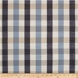 Wesley Mancini Home Yarn Dyed Lang Check Blues
