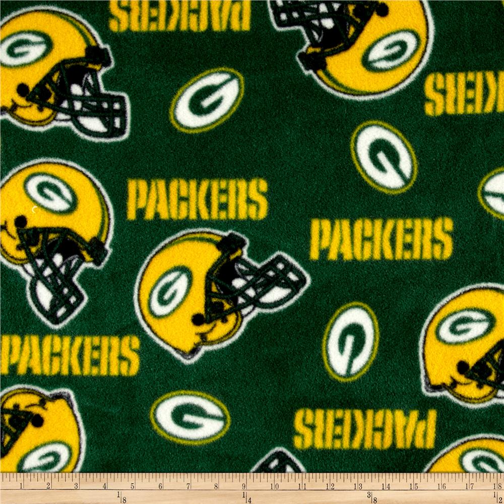 NFL Fleece Green Bay Packers Green/Yellow