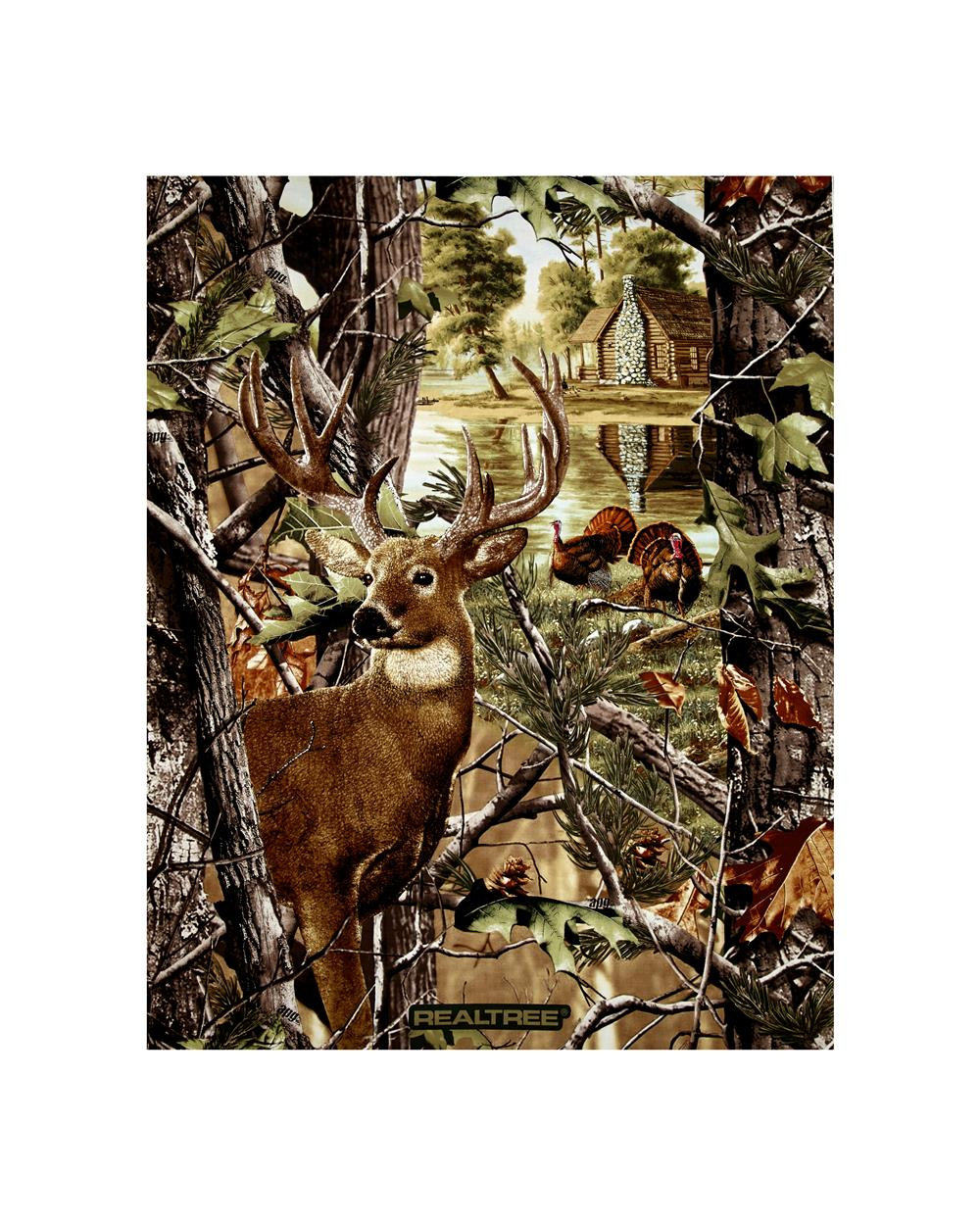 "RealTree Deer & Turkey 35"" Panel Multi"