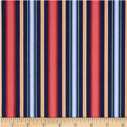 Georgette Home Decor Chantz Stripe Navy