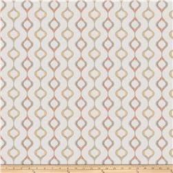 Fabricut Chop Ogee Coral