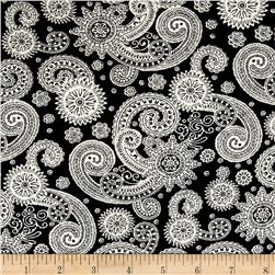Corduroy Aztec Flourish Black/Cream