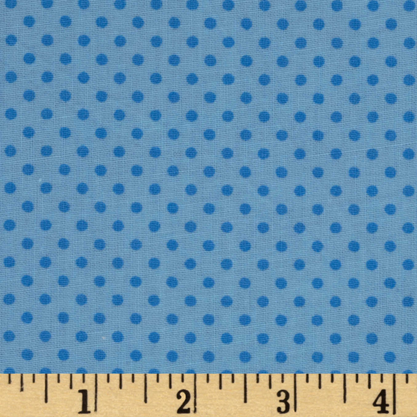 Baby Talk Dots Blue