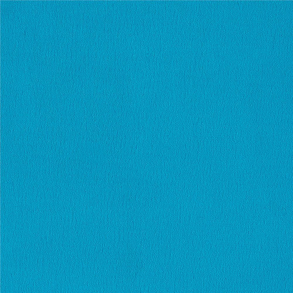 Solid ITY Stretch Knit Dark Turquoise Fabric