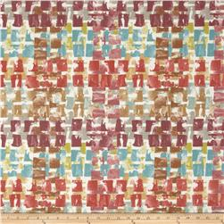 Swavelle/Mill Creek Indoor/Outdoor Quibble Spiceberry Fabric