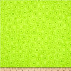 Flannel Starburst Green