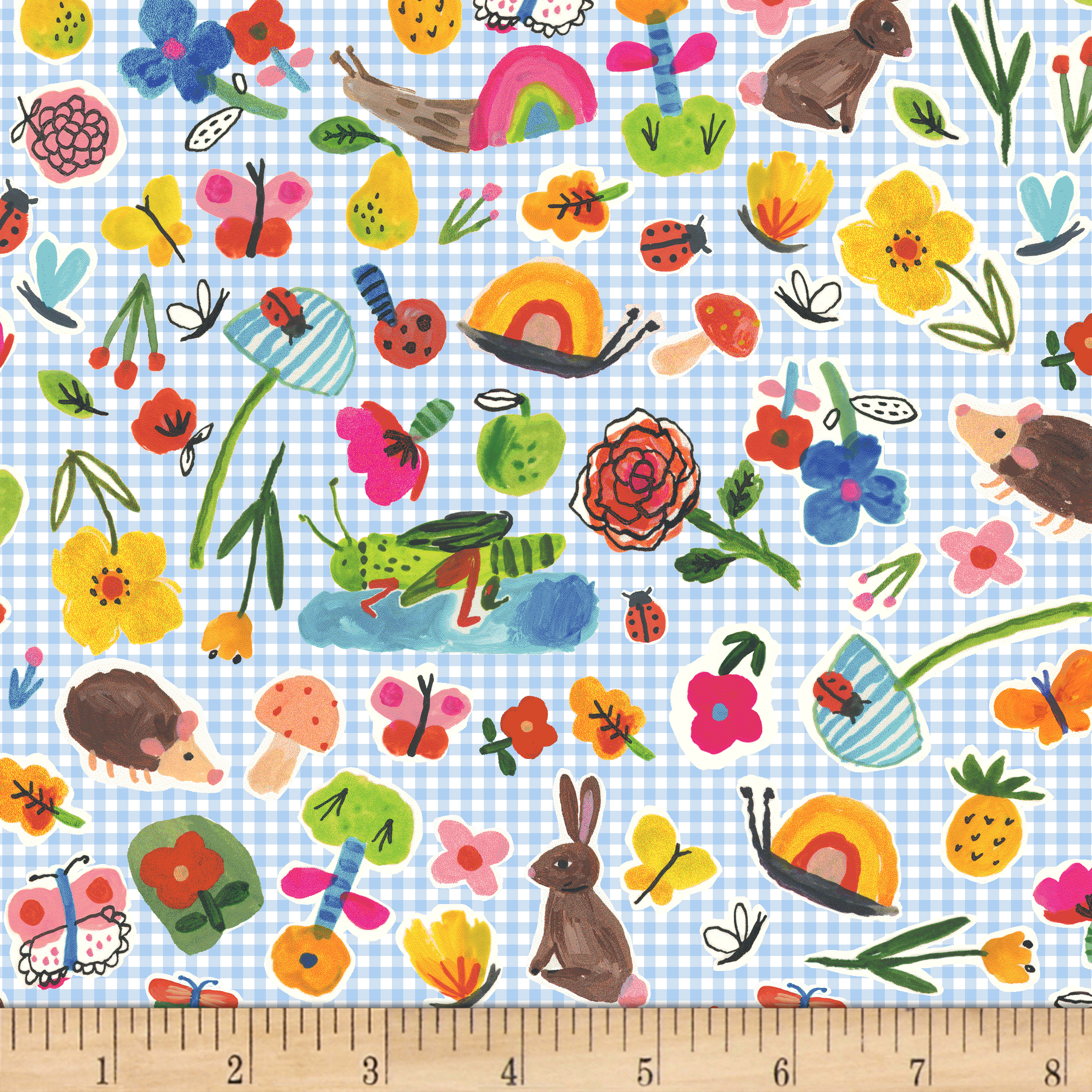 BFFS Little Critters Blue Fabric