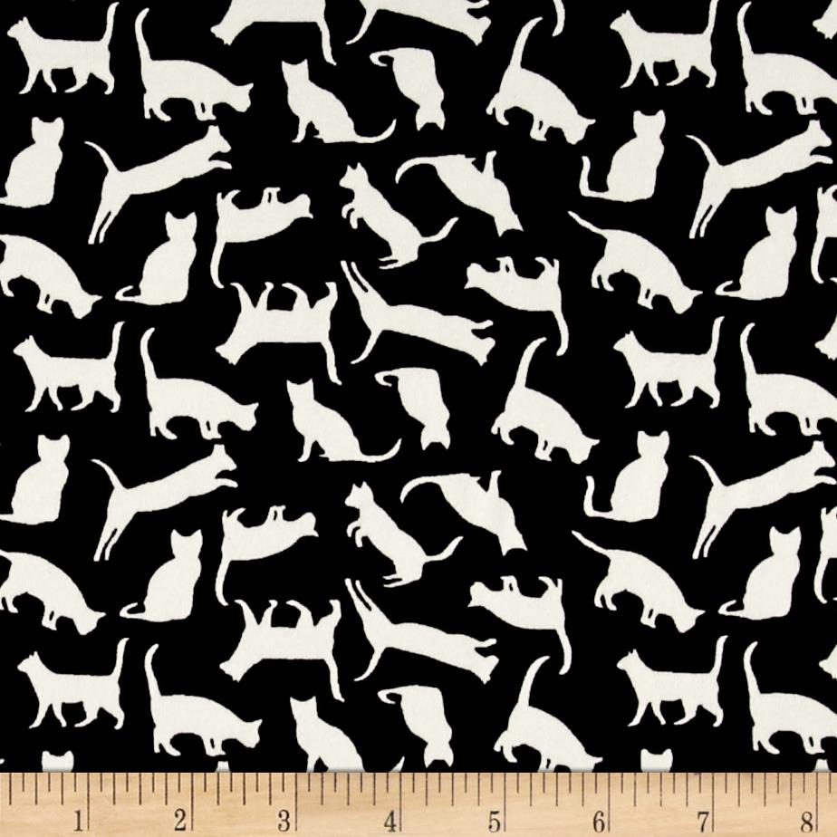 zoom telio monaco stretch ity knit cat print ecrublack
