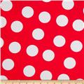 Pimatex Basics Large Dots Red