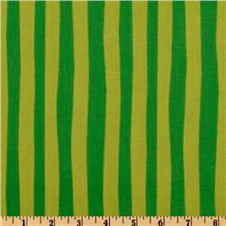 Kaufman How The Grinch Stole Christmas Stripe Green