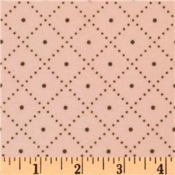 Cozy Cotton Flannel Grid Garden Fabric